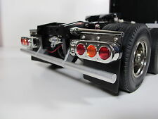 Custom Rear Lower Bumper Guard Tamiya R/C 1/14 Knight Hauler Aeromax Man Truck