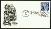#3183b 32c Federal Reserve System, Art Craft-Hand Cancel FDC **ANY 4=FREE SHIP**