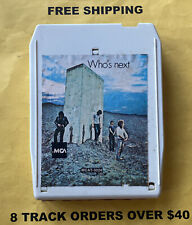 Who's Next The Who 8 track tape tested