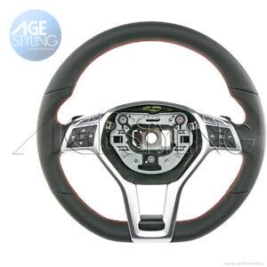 OEM Mercedes-Benz C-Class204 C250 C300 C350 C63 Leather Steering Wheel 2012-2015
