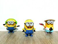 McDonalds Despicable Me 2 3 Minion Universal Studios Happy Meal Promotional Toy
