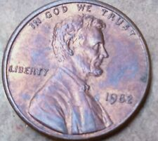 1982 Large Date Lincoln One Cent