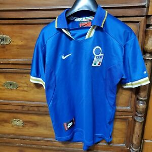 Italy Home Football Shirt 1996 Nike Vintage 16 yrs size retro