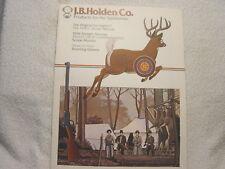 Jb Holden Scope Mounts Optics 1967 gun shooting catalog
