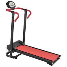 [in.tec] Mechanisches Laufband mit LCD-Display Fitnessgerät Klappbar Heimtrainer