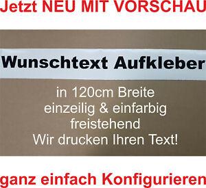 Wunschtext Aufkleber Auto Domain Beschriftung Schriftzug Cartattoo bis 120cm