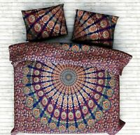 Indian Mandala Doona Duvet Quilt Cover Set Single/Queen/King Size Bedding set