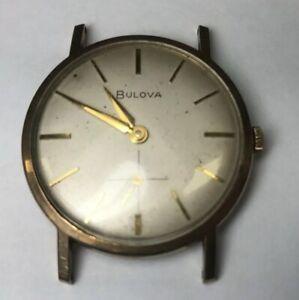 vintage  slim Bulova manual wind m7 swiss watch