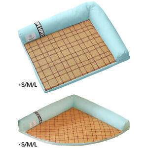Pet Dog Cooling Mat Heat Relief Bed Sleeping Pad Car Seat Puppy Cool Blanket