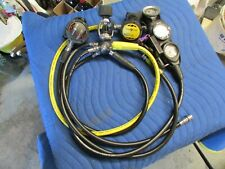 New listing Aqua-Lung Titan LX Regulator setup W/ Suunto Zoop dive computer/ Fresh service