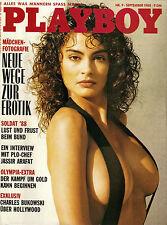 Playboy September/09/1988  Miss Autobahn - ADRIANE USSAT