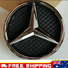 Front Grille Chrome Star Badge Case For MERCEDES-BENZ A,C,B,GLA,GLK,CLA,CLS,ML,E