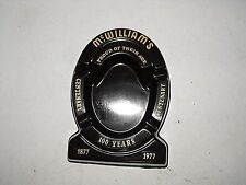 Vintage McWilliams Bakelite Ashtray Great Advertising As New Looking Condition