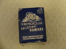 DC HeroClix Collateral Damage 2006 Limited Edition Figure Booster Pack