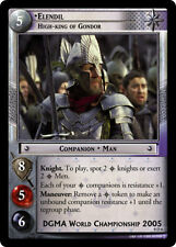 LOTR TCG 0D6 Elendil High King of Gondor Decipher Promo Foil Card