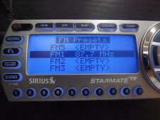 SIRIUS ST2 Starmate 2 XM satellite radio W/Car kit  LIFETIME SUBSCRIPTION