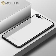 9H Tempered Glass Shockproof Bumper Case Back Cover for iPhone XS MAX X 8 7 Plus