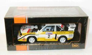 1/18 HB Audi Sport Quattro  Lombard RAC Rally 1985  H.Mikkola / A.Hertz