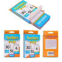New English Alphabet Arabic Numbers Learning Flash Paper Card Education Toy
