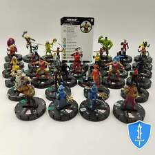 Set 34 Common/Uncommon - Marvel Black Panther Illuminati HeroClix Miniature Lot