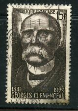 STAMP / TIMBRE FRANCE OBLITERE N° 918 / CELEBRITE / GEORGES CLEMENCEAU