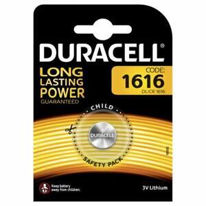 DURACELL CR1616 Bouton Lithium 3 V Blister Piles - Date 2029