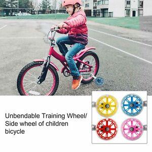 """12-20"""" Cycle Bicycle Stabilisers Kid Balance Training Wheels Child Bike Flashing"""