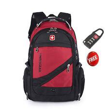 2019 Swissgear Outdoor Sports Travel Bag Laptop red Backpack School Bag