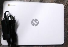 HP Chromebook 14 Laptop (16GB SSD, 4GB Ram, Intel 2955U 1.4 GHZ ) White Netbook