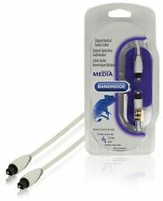 Bandridge Toslink Digital optical Audio Cable 2m (Media Players to Audio Devices