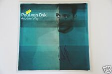 "PVD Paul van Dyk ""Another Way"" 12"" Vandit  LP + Autogramm /Autographs in Person"