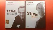DVD RAFAEL MONEO e STEVEN HOLL GREAT ARCHITECTS GRANDI ARCHITETTI ARCHISTAR