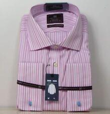 Striped Regular Formal Shirts for Men 50 in. Chest