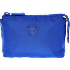 VERSACE Medusa Palazzo Nylon Wash Bag - Royal Blue