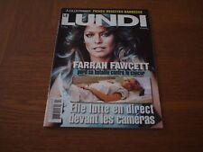 FARRAH Fawcett Charlies Angels LE LUNDI 2009 Canada Magazine Hard To Find