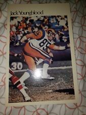 Jack Youngblood 1981 MARKETCOM Mini-Poster #45 of 50