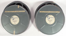 MOVIE FILM 16MM 2 12 INCH REELS SIGNALS FOR SURVIVAL PART 1 AND 2 MCGRAW FILMS