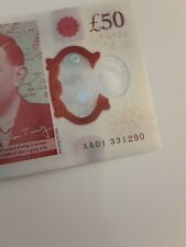 More details for aa01 £50 note - very low serial - bank of england - free signed for p&p