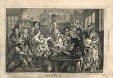 Le Roi boit de Jacob Jordaens peintre Kunsthistorisches Museum ILLUSTRATION 1857