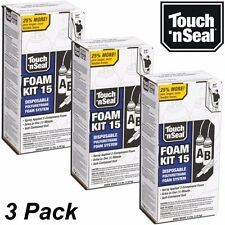 Touch N Seal DIY Spray Foam Insulation Kit 15 BF Closed Cell - (Qty 3 FULL Kits)