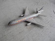 Vintage 1970s Zymex DC-10 Diecast Airplane LOOK