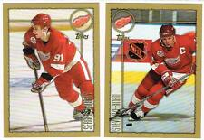 1998 1999 98/99 TOPPS...TEAM SET...DETROIT RED WINGS..12 CARDS...YZERMAN FEDOROV