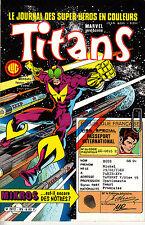 TITANS   N°85    LUG    MARVEL