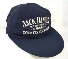 Jack Daniels Country Cocktails Blue Baseball Cap Hat Big Bill EUC Box Shipped