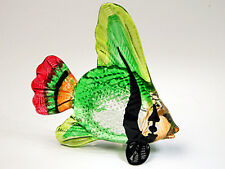 Aquarium Miniature Hand Blown Glass Fish Figurine Ornament Hand Crafted