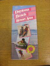 Circa anni 1990 DAYTONA Beach: Resort area visitatori GUIDE, 82 pagine. Tutina progs/Bo