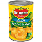 Del Monte Canned Apricot Halves in Extra Light Syrup, 15-Ounce Cans Pack of 12