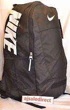 Sale***NIKE Men Women Unisex Backpack Rucksack School Bag 30 Litere Adult Black