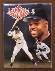 Legends Sports Memorabilia Vol. 5, No.2 March/April 1992 Frank Thomas