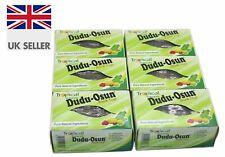 6 x African Black Soap Dudu Osun For Eczema, Acne, Fungus Dermatitis (6 BARS)